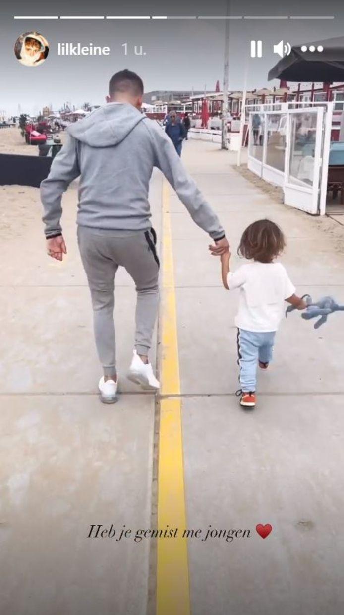Lil' Kleine en zoon Lío