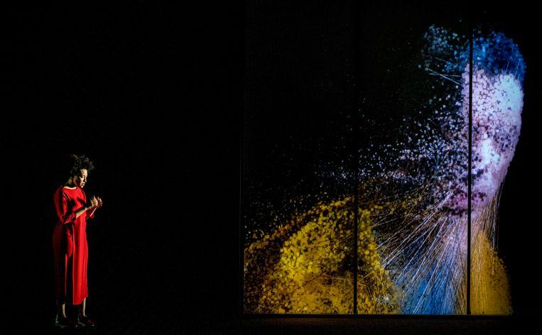 Upload, van Michel van der Aa door de Nationale Opera. Beeld Marco Borggreve