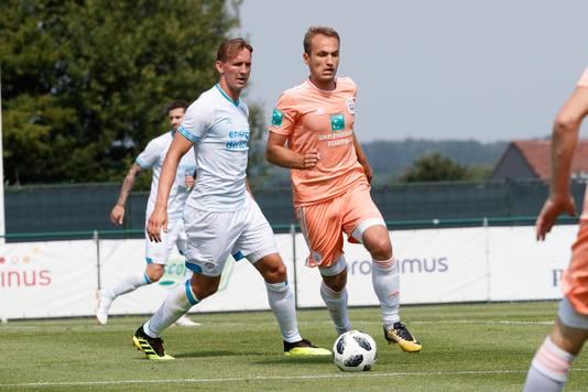 Luuk de Jong (links).