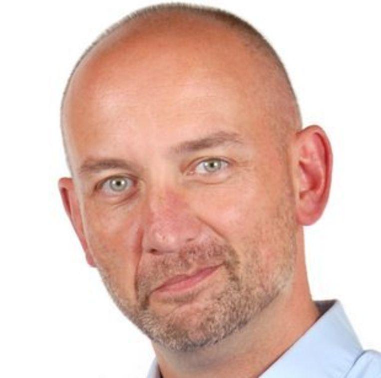 Bart Sturtewagen, opiniërend hoofdredacteur van De Standaard. Beeld