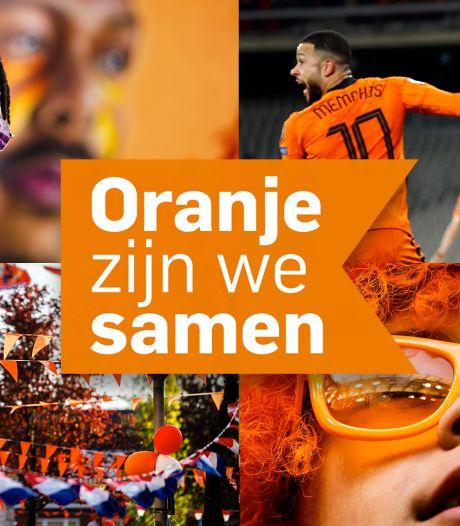 Oranje zijn we samen deze zomer. Beleef het Oranjegevoel bij het AD!