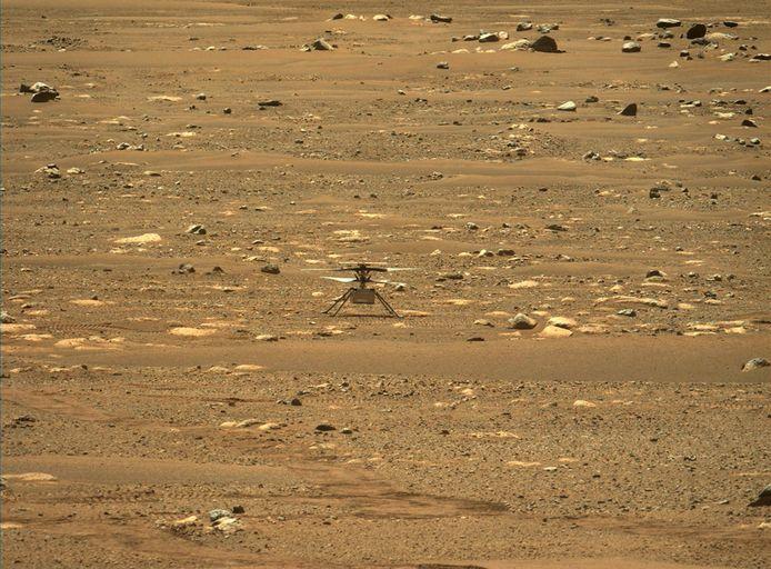 Helikopter Ingenuity op Mars.