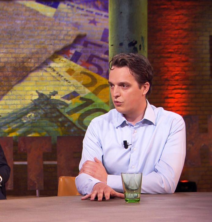 Sywert van Lienden in het programma Buitenhof.