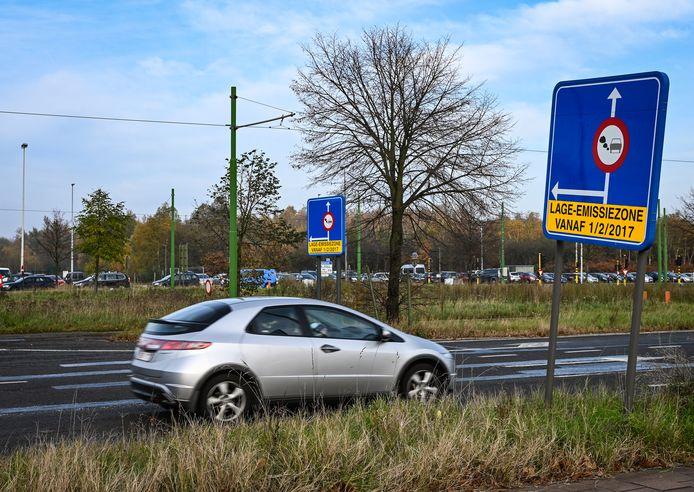 In Antwerpen is er al sinds 2017 een lage-emissiezone van kracht.