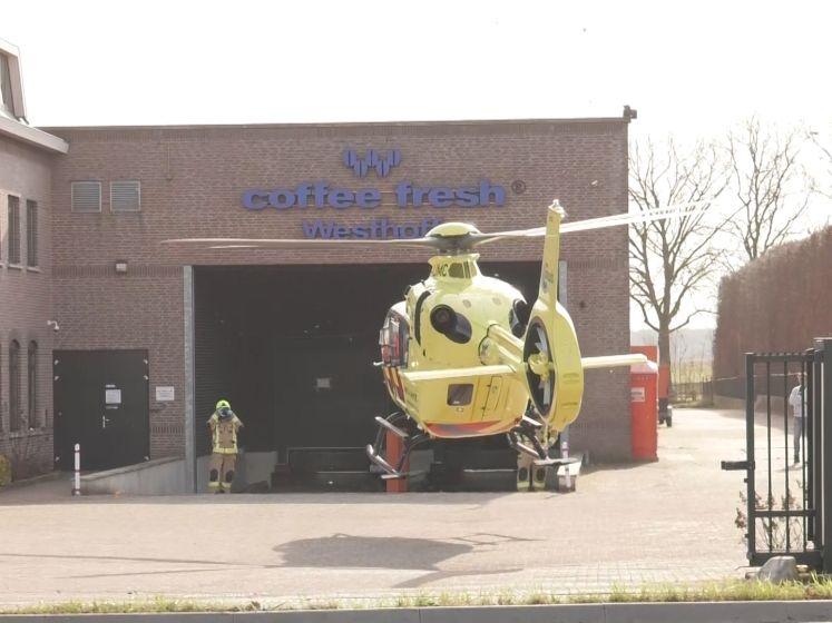 Traumahelikopter landt voor ongeluk met fietsster bij Drempt