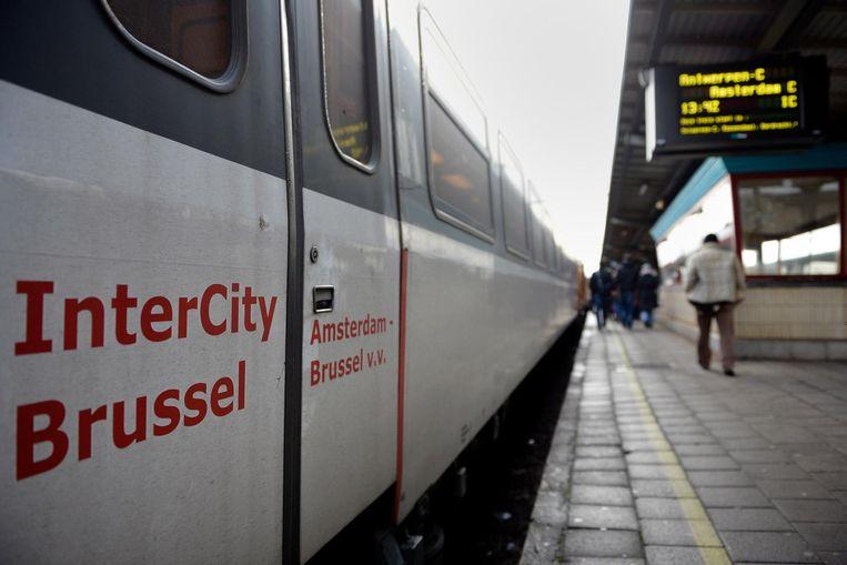 De Beneluxtrein houdt vanaf april halt in station Noorderkempen. Beeld BELGA