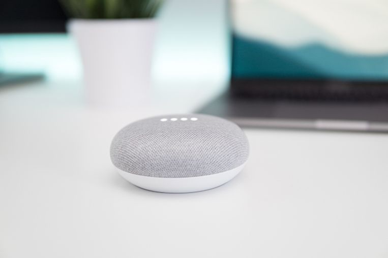Wanneer de Belgische variant van de Google Assistant ook op de slimme luidsprekers van het Amerikaanse techbedrijf beschikbaar zal zijn, is nog niet duidelijk.  Beeld rv