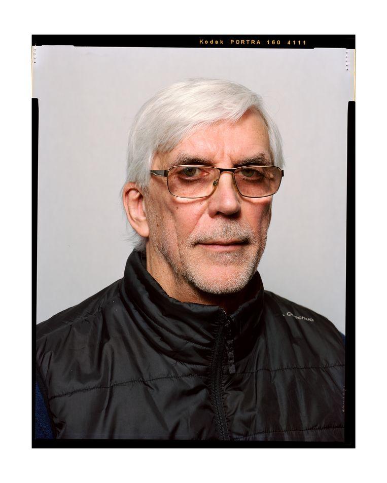 Rob, eigenaar van Cafe de Zeevaart Beeld Eva Roefs