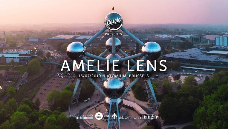 Exclusieve set van Amelie Lens aan het Atomium