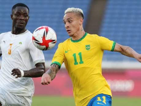 Olympisch voetbal: Ritsu Doan schiet Japan naar zege, Antony met Brazilië niet langs Ivoorkust