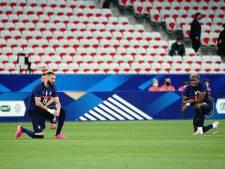 Le genou à terre prévu par les Bleus avant Allemagne-France critiqué par la droite et l'extrême droite