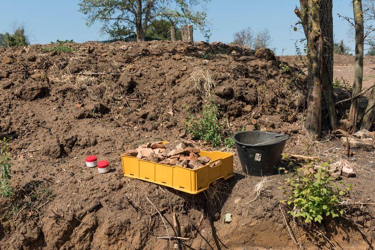Satricum, de archeologische site waar Marijke Gnade en andere Nederlandse archeologen al veertig jaar aan het graven zijn. Beeld Marco Bonomo