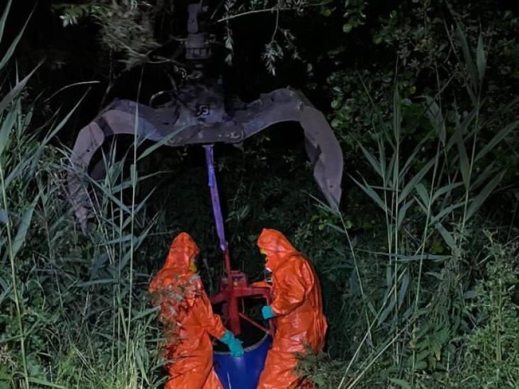 Geen verdachten opgepakt na synthetische drugsafvaldumping in Chaam