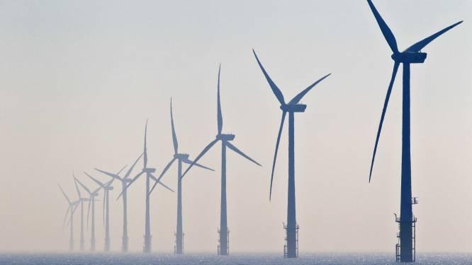 Windmolens op zee draaien maar aan derde van capaciteit