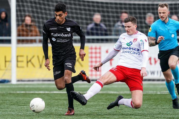 GVVV begint de oefencampagne met een wedstrijd bij De Merino's.