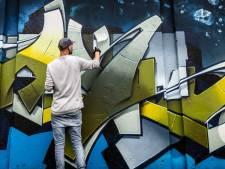 Nieuwe legale plek voor Groningse graffitikunstenaars, want illegale graffiti kost 50.000 euro