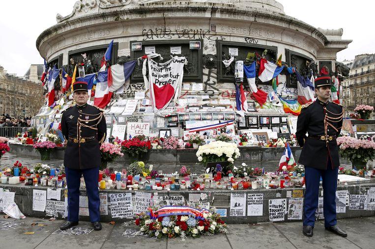 De aanslag tegen Charlie Hebdo vond bijna zes jaar geleden plaats . Beeld REUTERS