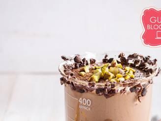 De ultieme lazy sunday met deze heerlijke chocolade verwensmoothie