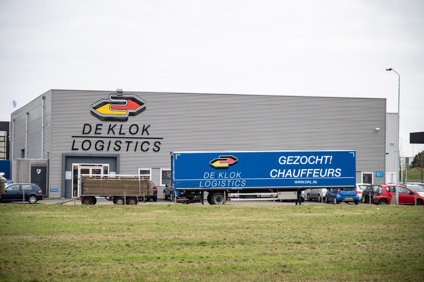 De boodschap van het Nijmeegse bedrijf De Klok Logistics is duidelijk.