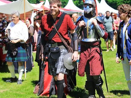 Bomvolle Dordtse Biesbosch met Keltfest: één grote verkleedshow
