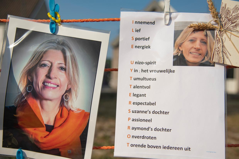 Een herdenking van Ilse Uyttersprot. De CD&V-politica werd vermoord door haar vriend.  Beeld Geert De Rycke