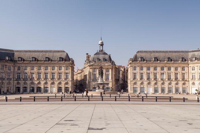 Place de la Bourse, à Bordeaux