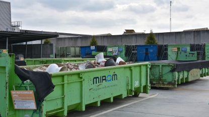Aantal toegelaten bezoeken aan recyclagepark opgetrokken van één naar twee per week