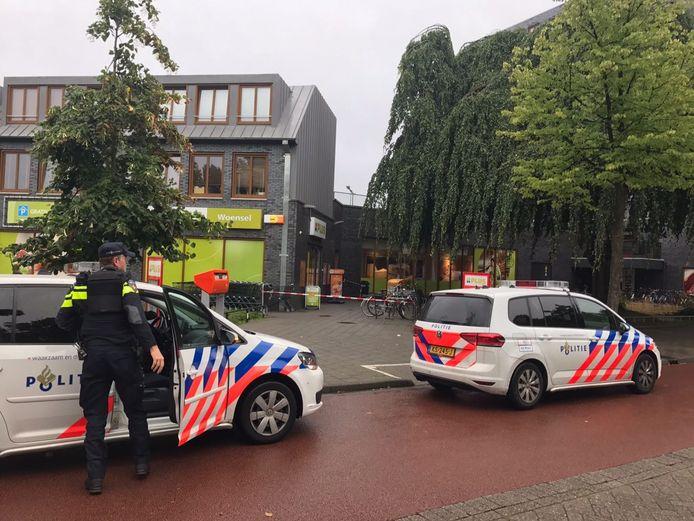 Gewapende overval op een supermarkt in Eindhoven.