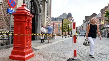Antieke postbus gerestaureerd