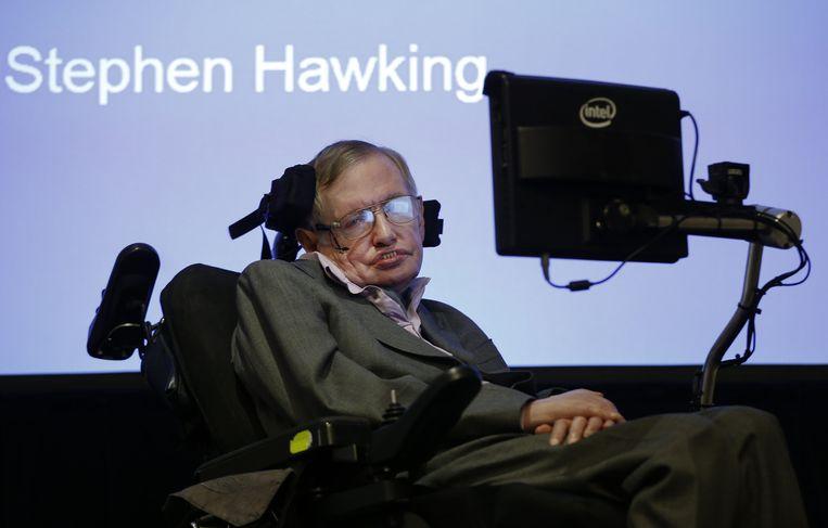 De bekende Britse natuurkundige, kosmoloog en wiskundige Stephen Hawking is overleden. Beeld AP