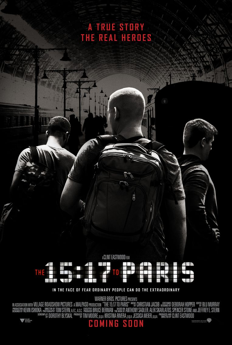 The 15:17 to Paris Beeld rv