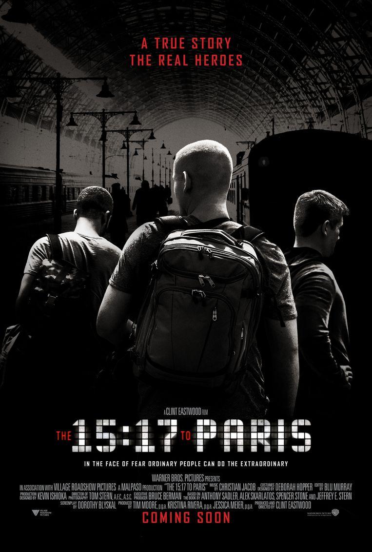 The 15:17 to Paris Beeld rv