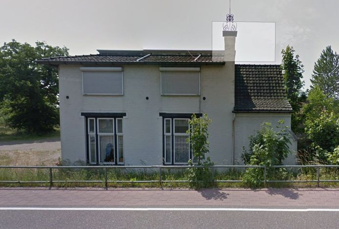 De villa aan de Eindhovenseweg in Boxtel waar voorheen Joris Meubelen in gevestigd was.
