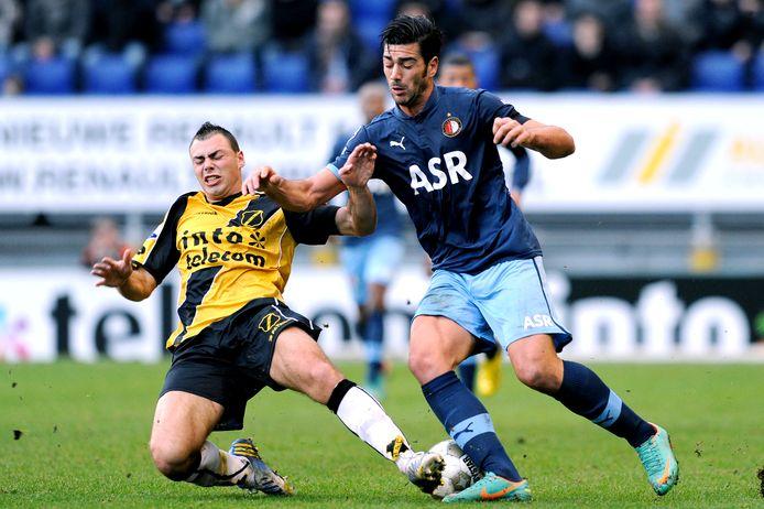 Kenny van der Weg ontpopte zich in Breda tot een mateloos populaire mannetjesputter.