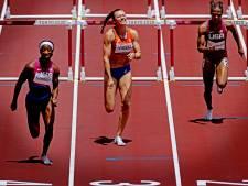Nadine Visser baalt na vijfde plaats op 100 meter horden: 'Het wordt lastig dit te verwerken'