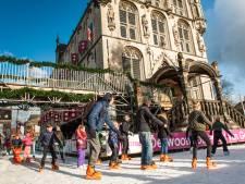 Dit jaar geen ijsbaan in Gouda door corona: 'Jammer voor de kinderen'