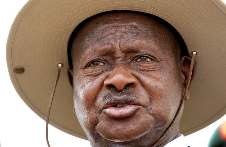 Yoweri Museveni (Oeganda). Beeld REUTERS