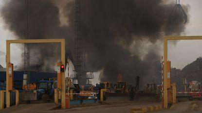 VIDEO. Zware brand bij schrootverwerkend bedrijf, rookpluim van kilometers ver te zien