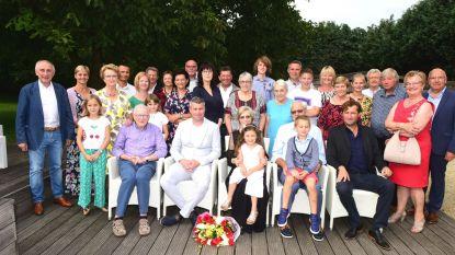Pierre en Agnes vierden hun huwelijksverjaardag