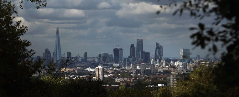 De Londense skyline. Beeld getty