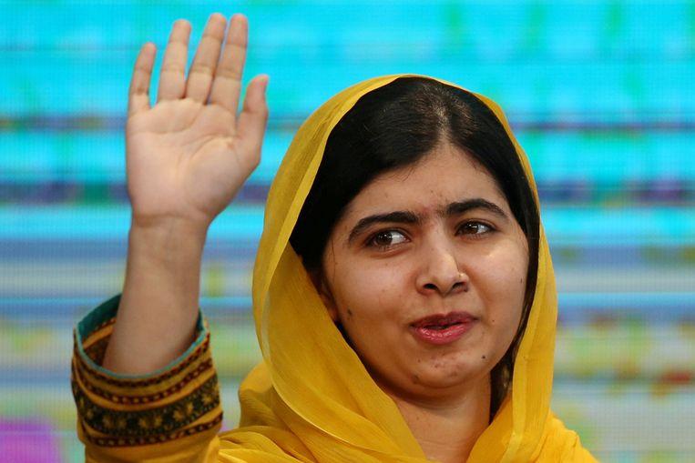Nobelprijswinnares Malala Yousafzai Beeld REUTERS