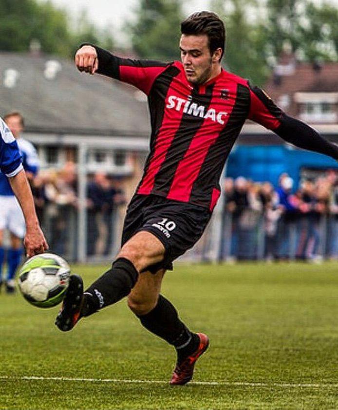 Luigi Burhenne speelt volgend seizoen bij SV Brandevoort.