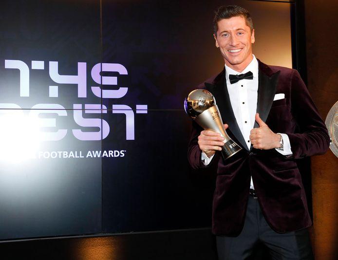 Robert Lewandowski won dit jaar de prijs voor 'Best Fifa Men's Player' van 2020.