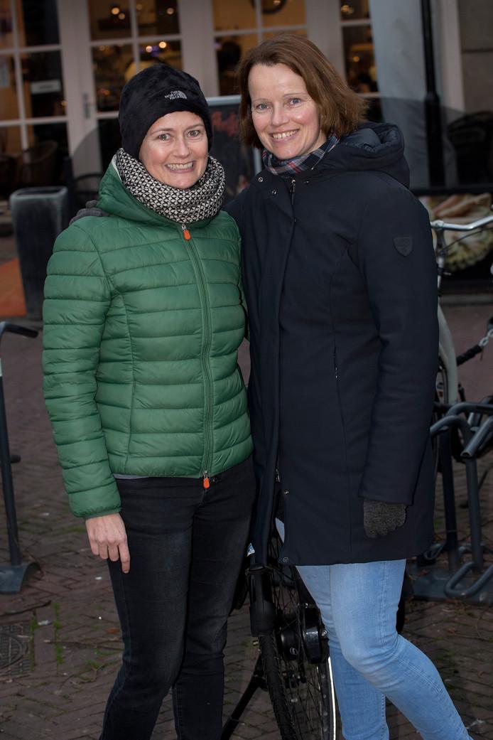 Anja van Doesburg (links) en Margreet Verkerk.