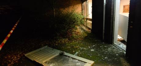 Aanbouw bij de Markuskerk in Breda vernield door zwaar vuurwerk