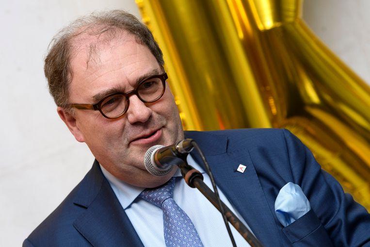 Christoph D'Haese, burgemeester van Aalst (N-VA). Beeld Photo News