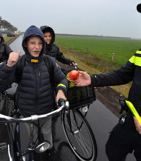 Handtekeningen voor veilig fietspad