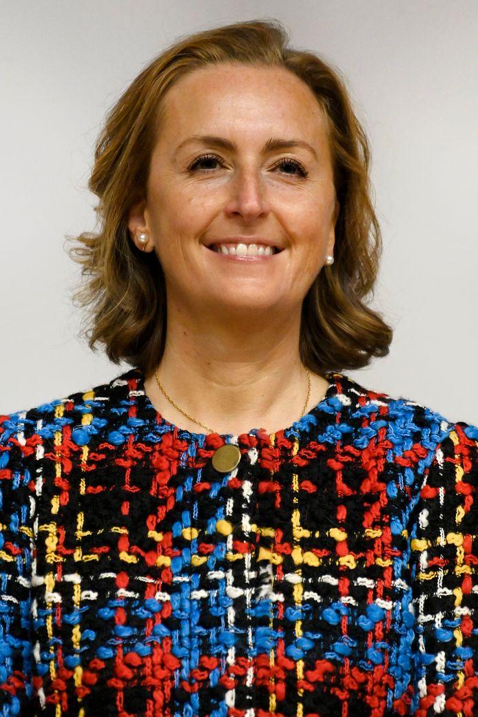 La princesse Claire photographiée lors de la cérémonie de remise du Prix Terre d'Avenir.