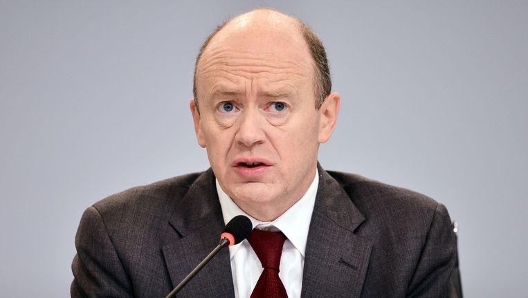 John Cryan, bestuursvoorzitter van Deutsche Bank. Beeld getty