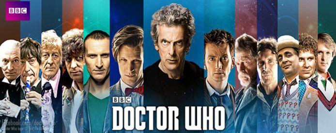 Alle Doctors uit 'Doctor Who' tot 2017.